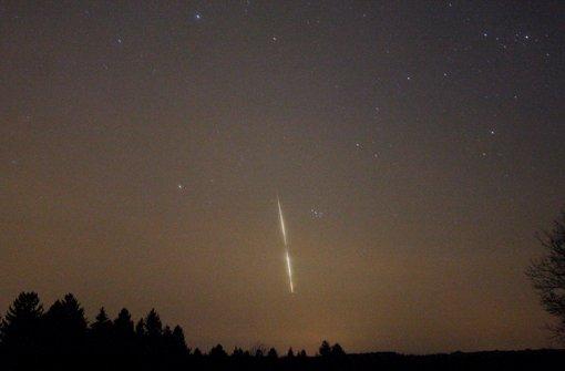 meteorit ber s ddeutschland feuerball am n chtlichen himmel sorgt f r aufregung panorama. Black Bedroom Furniture Sets. Home Design Ideas