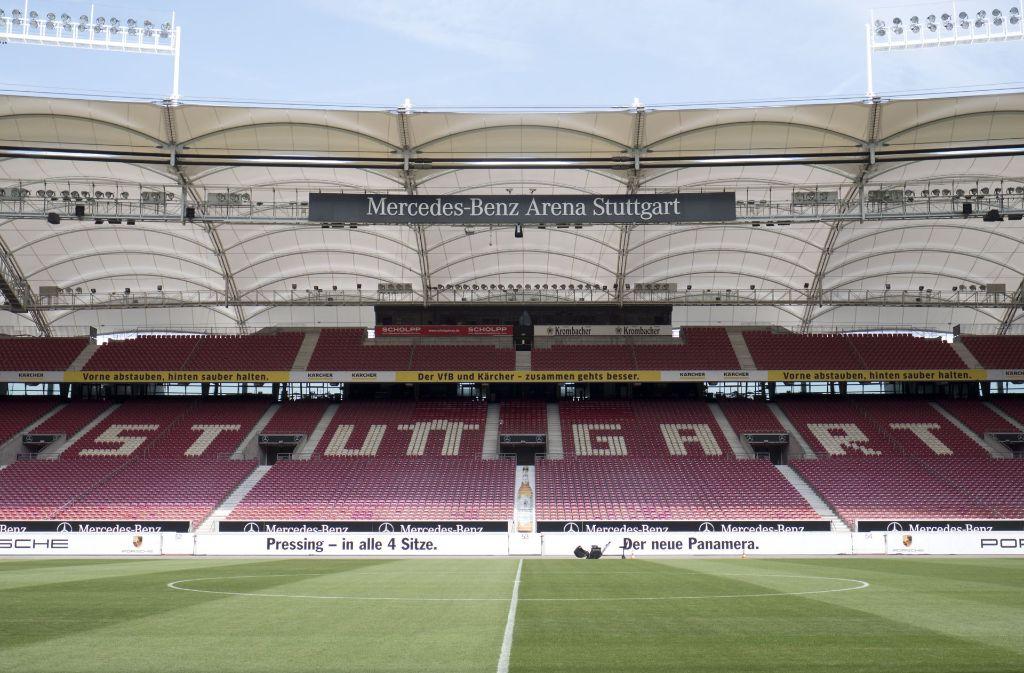 stadiondach des vfb stuttgart die arena h llt sich wieder. Black Bedroom Furniture Sets. Home Design Ideas