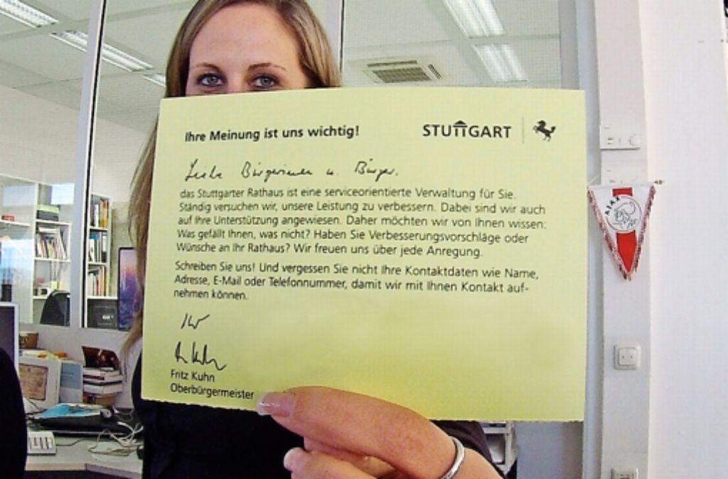 Gelbe Karte Stuttgart