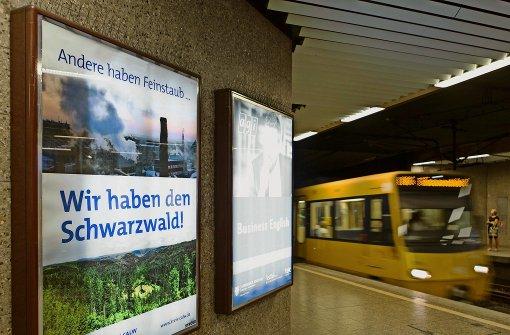 Calw stichelt mit Feinstaub-Plakaten