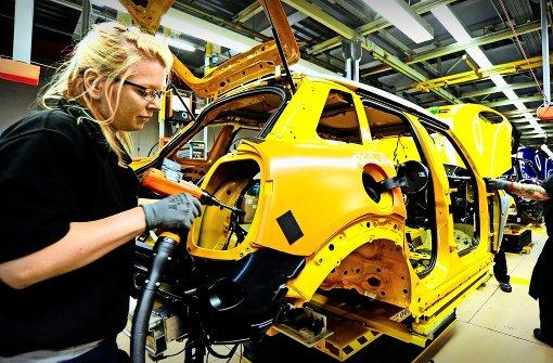 Autobauern droht ein Absatzrückgang