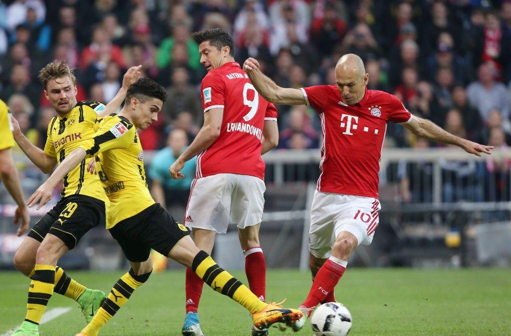 Fußball München Dortmund