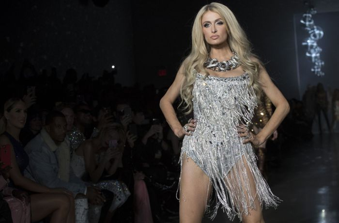 Fashion Week in New York: Paris Hilton erobert den Laufsteg