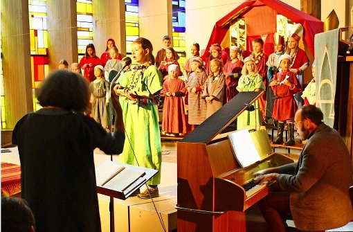 Der Kinderchor feiert 25-jähriges Bestehen