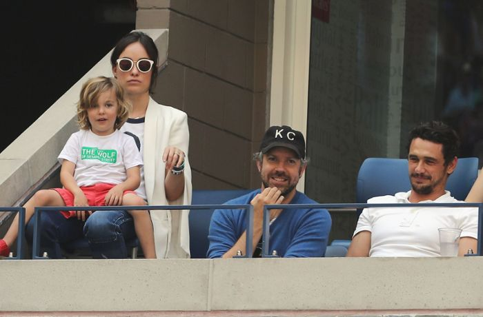 US Open in New York: Olivia Wilde und James Franco fiebern beim Tennis mit