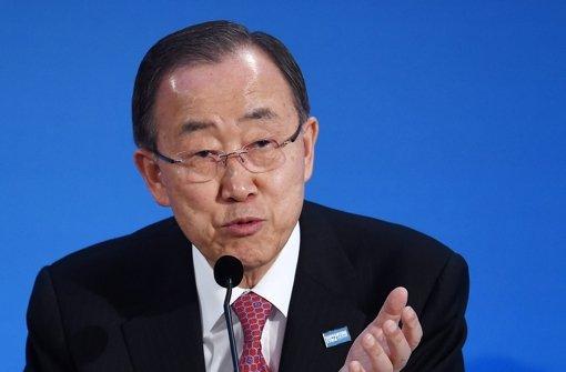 Ban Ki Moon Foto: dpa